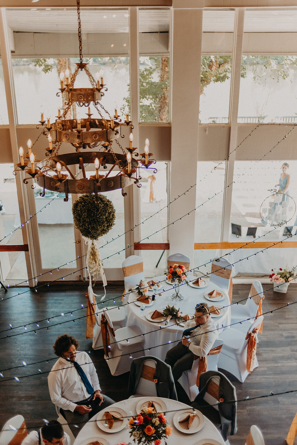 Roswell River Landing Wedding Venue Reception