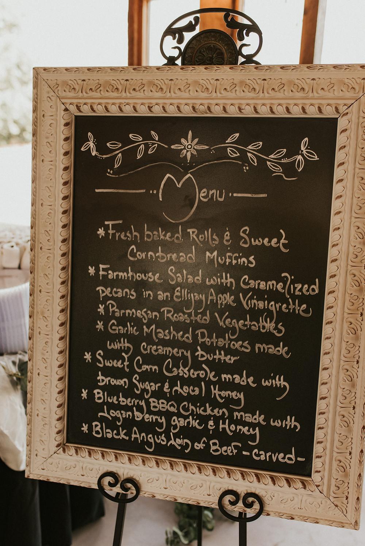 wedding reception decor details