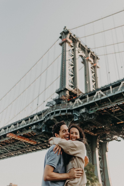 Brooklyn Bridge Engagement session