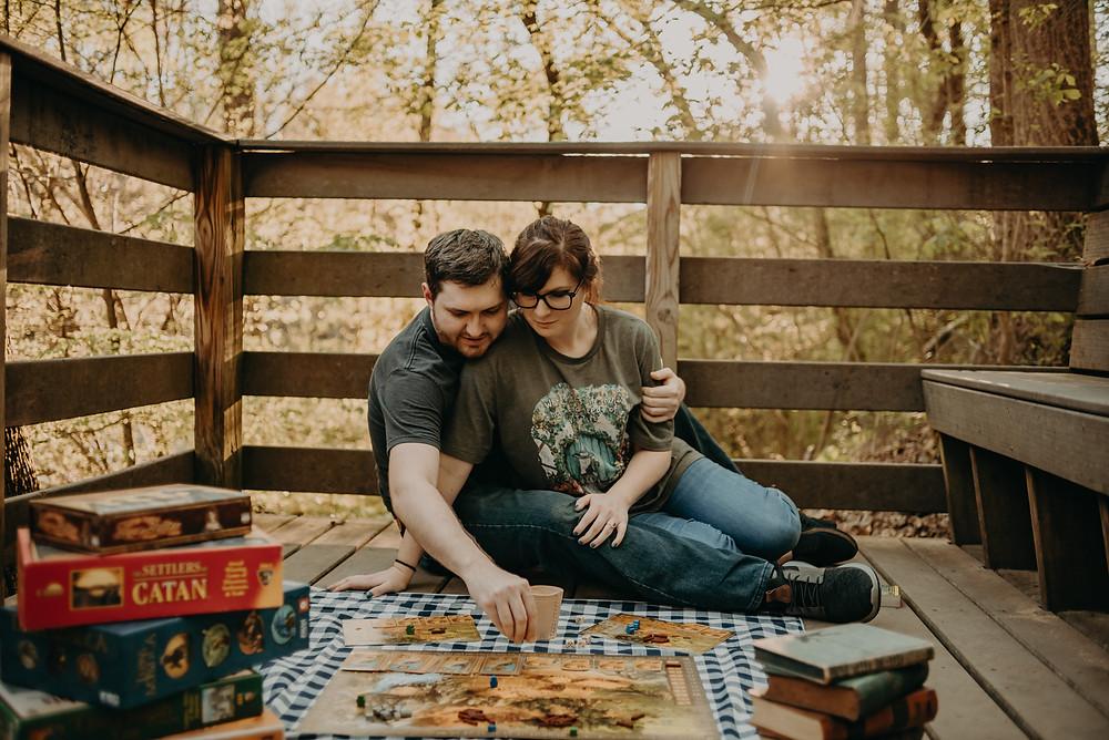 Engagement Session. Atlanta Wedding Photographer. Geek/Nerd