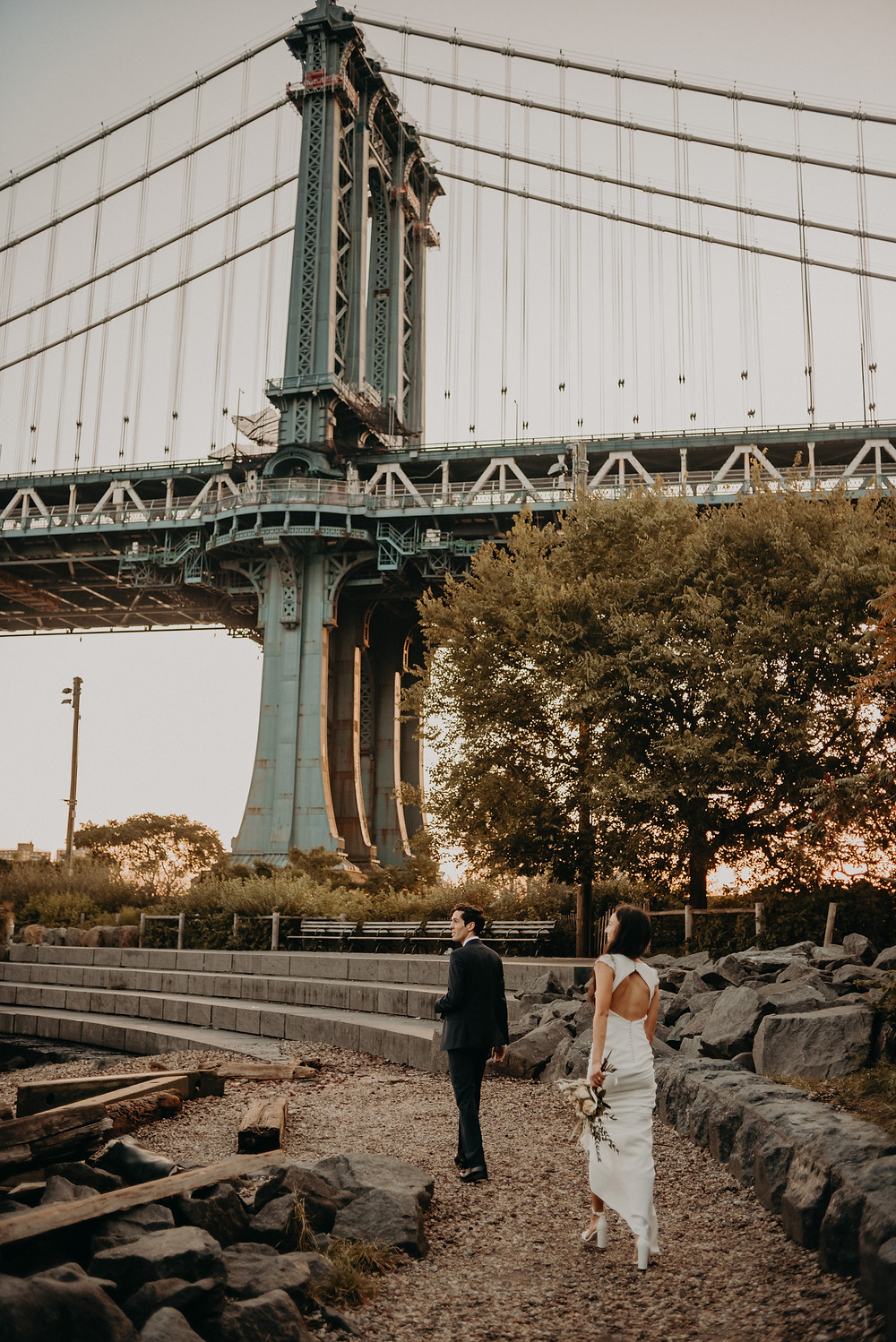 Bridal session in NYC destination