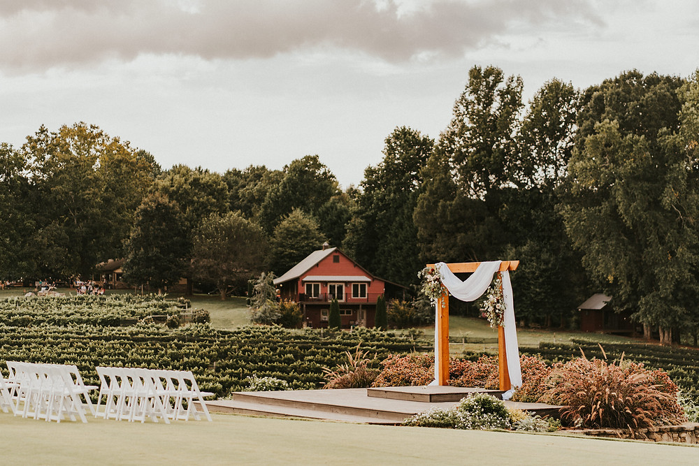 ceremony venue vineyard