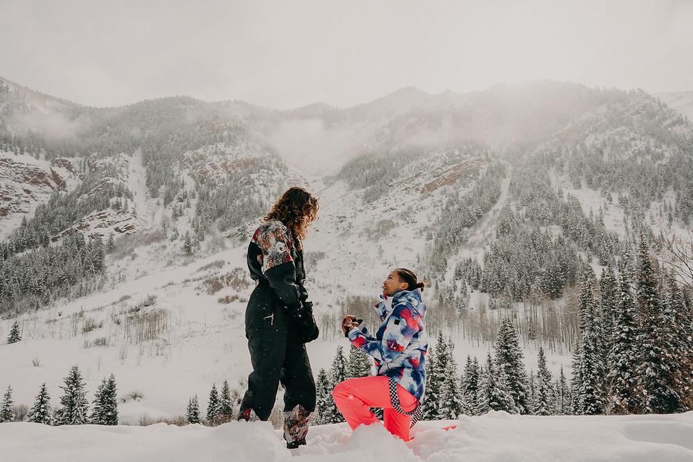 LGBTQI+ surprise proposal in Apen CO