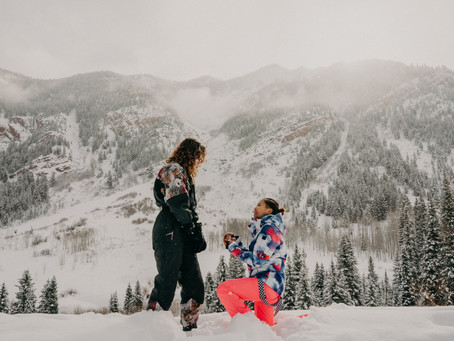 Claire+Ashleigh: Surprise Proposal in Colorado - Destination Photographer