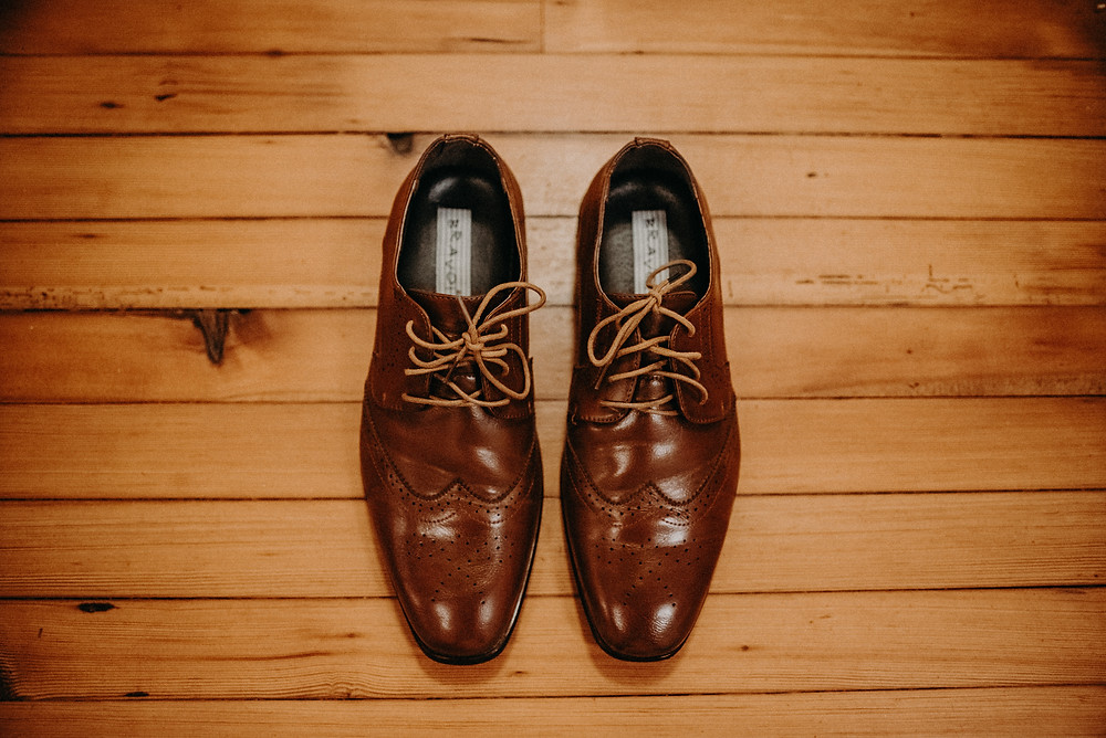 Groom's shoes for the wedding