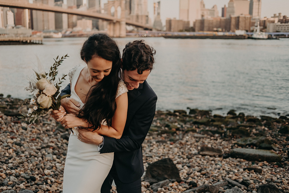 Fun bridal session in NYC