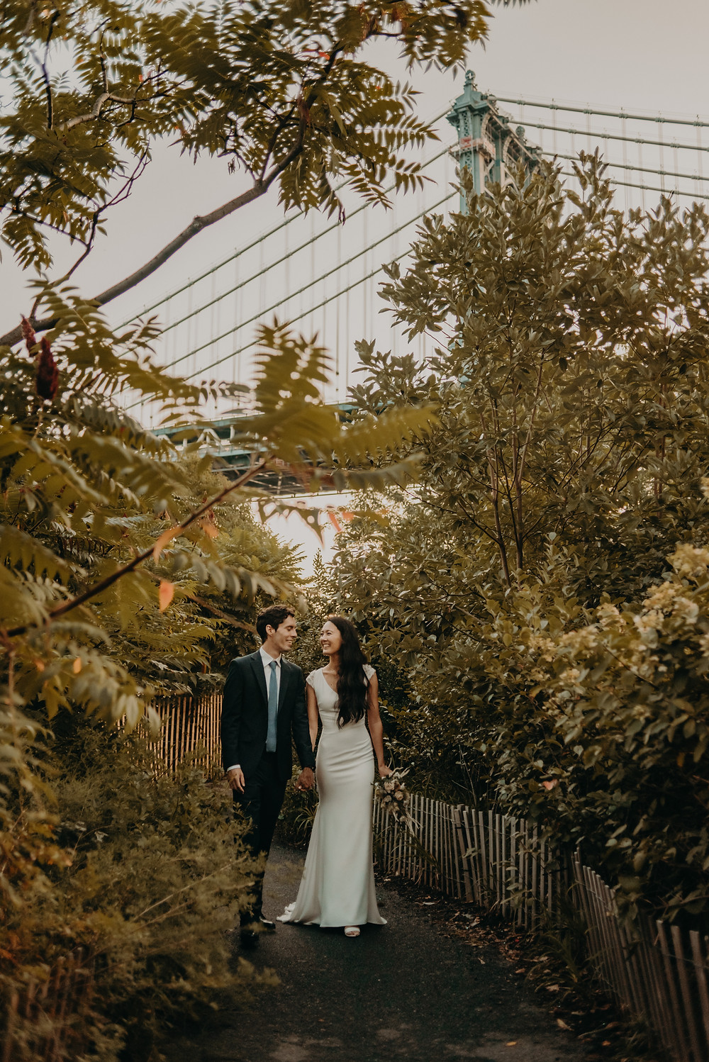 Destination Bridal Session in NYC