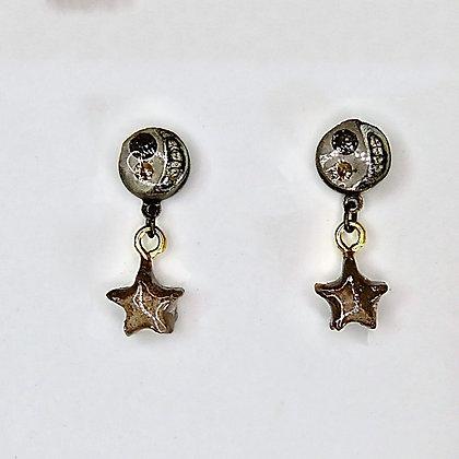 Boucles d'oreilles Croissant de Lune