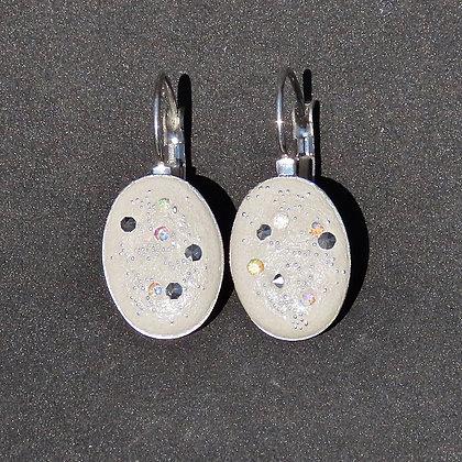 Boucles d'oreilles Cosmos d'Argent