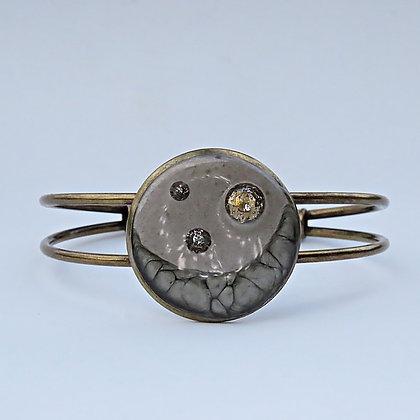 Bracelet manchette Croissant de Lune