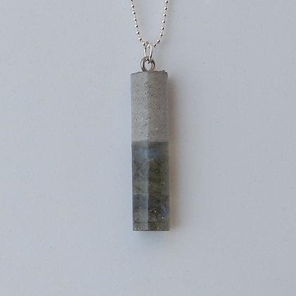 Collier Echantillon minéral Labradorite