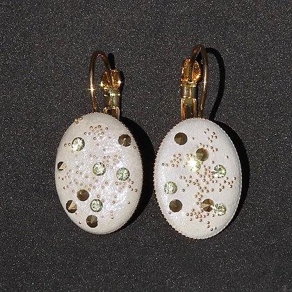 Boucles d'oreilles Cosmos d'Or