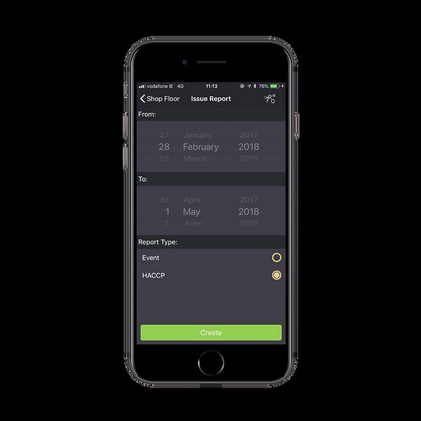 Remote Signal App Report Request
