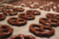 Marie Bee chocolate covered pretzels and other chocolate covered pretzels