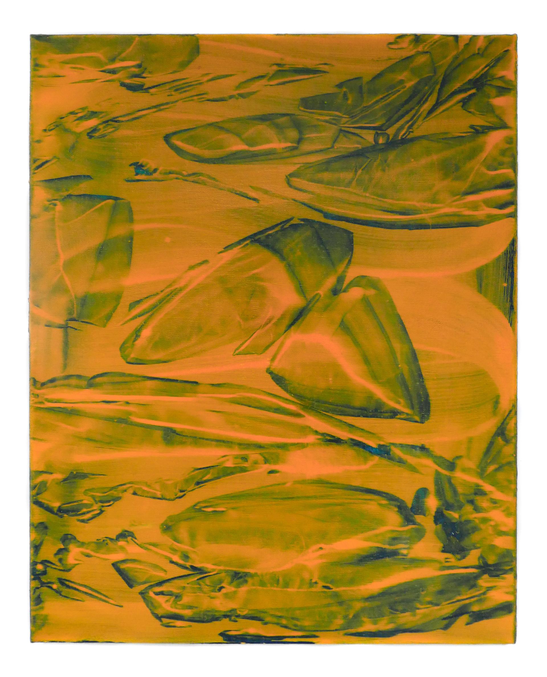 glitch, 2018, oil on linen, 51 x 41cm