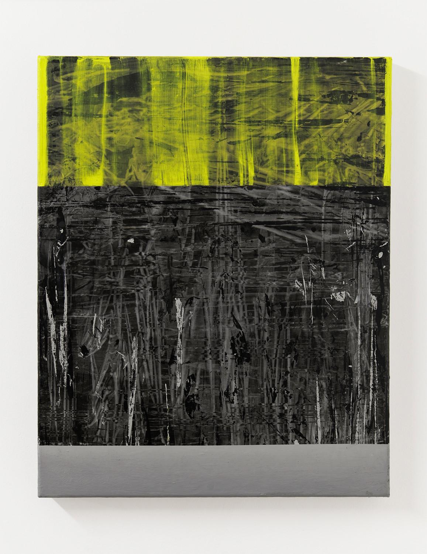 stria 1, 2018, oil on linen, 50cm x 40cm