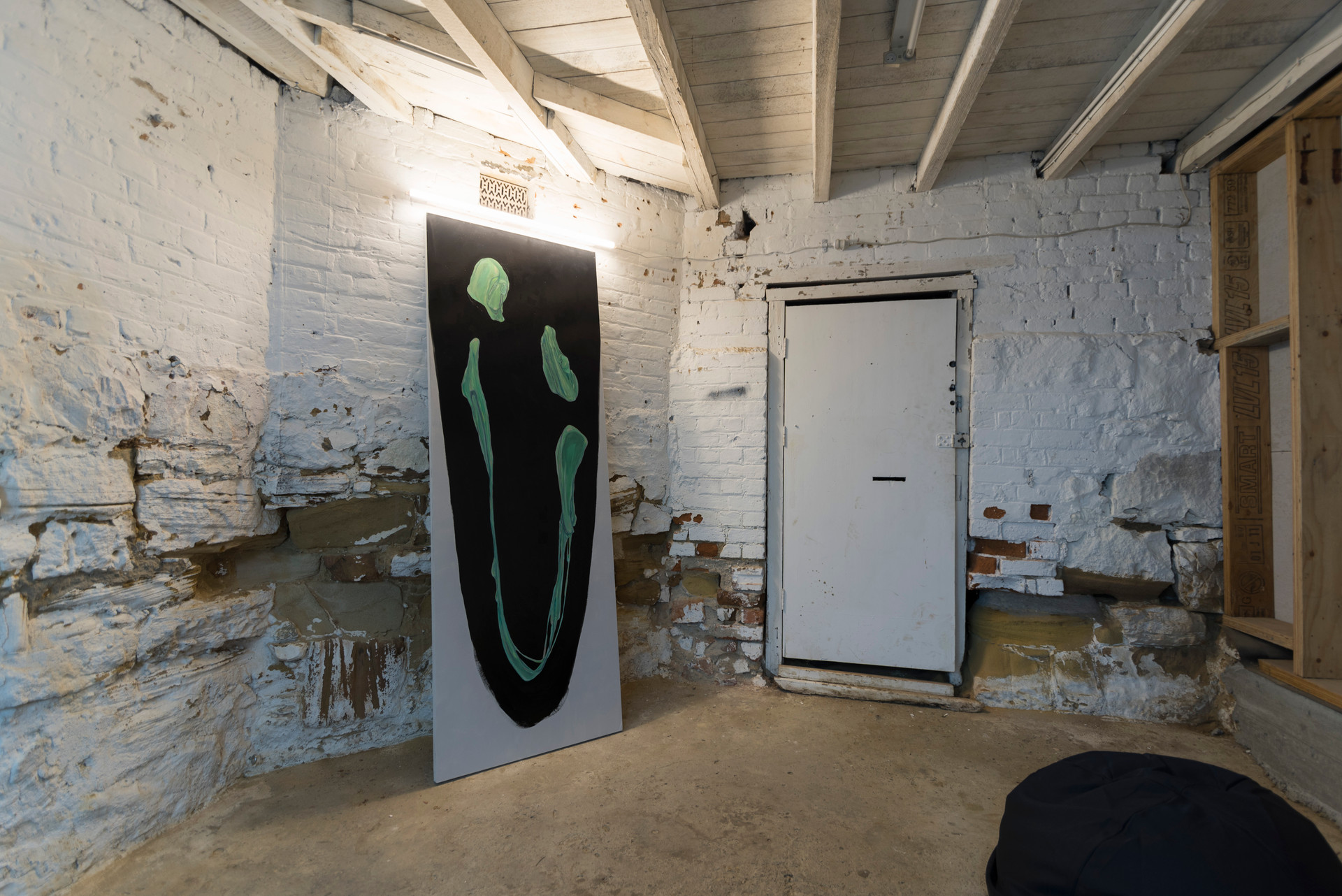 exhibition install