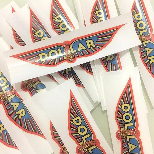 Stickers Dollar vintage