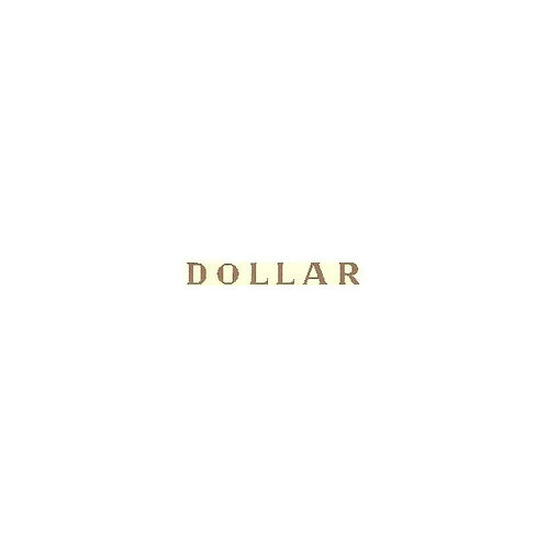 Décalcomanie Dollar