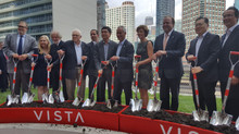 Wanda Vista Tower Groundbreaking