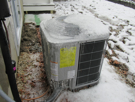 Cover your A/C Compressor in Winter