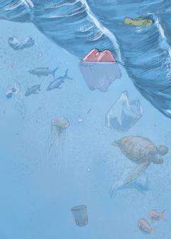 Ein Meer aus Plastik