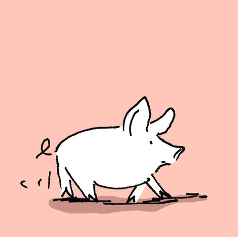 "comic ""Piglet"""