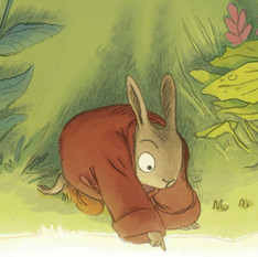 """children's book """"A Light In The Forest"""""""