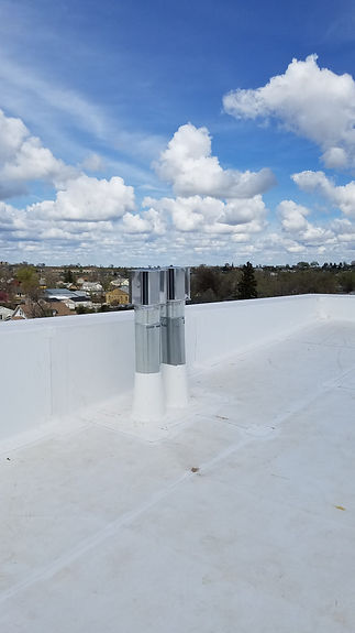 Commercial roof in Rapid City