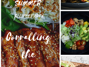 Summer Recipes Part 1