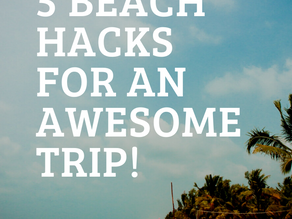 10 Hacks For The Beach(with toddlers)