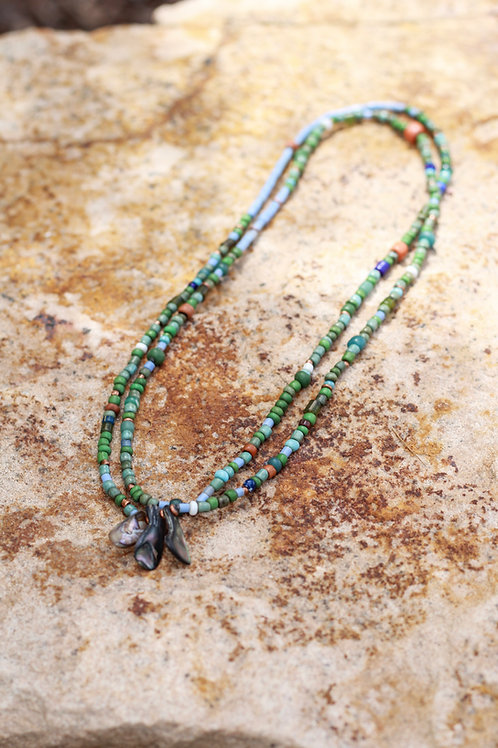 Abalone Tradebead Necklace