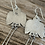 Thumbnail: Thunderbird Earrings (with tails)