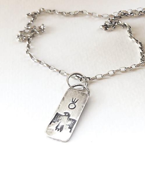 thunderbird charm necklace