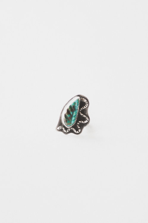 snake & feather ring