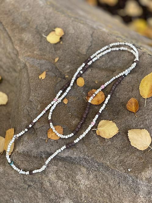 Balance Trade Bead Necklace