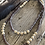 Thumbnail: Deep Purple Trade Bead Necklace