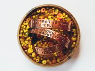Copper prayer cuffs