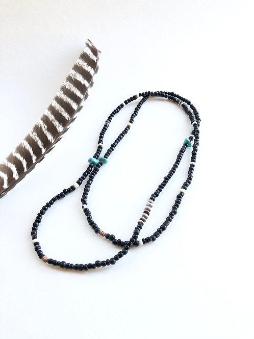 sa'pe trade bead necklace