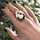 Thumbnail: white buffalo statement ring