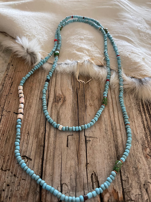 Pieces of the Sky Trade Necklace