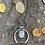 Thumbnail: Wampum Moon Necklace