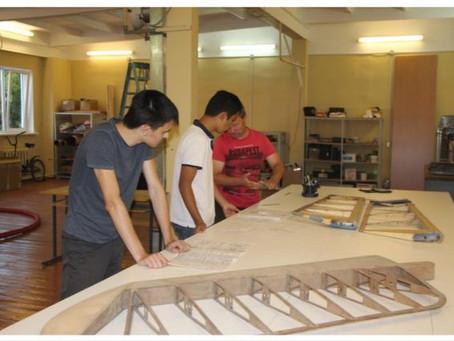 На территории Лыжной базы КАИ работает студенческое ОКБ 1
