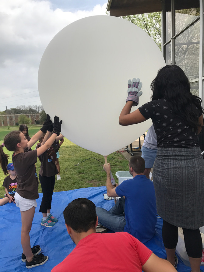 The Weather Balloon, the Girl Scouts and the Unicorn