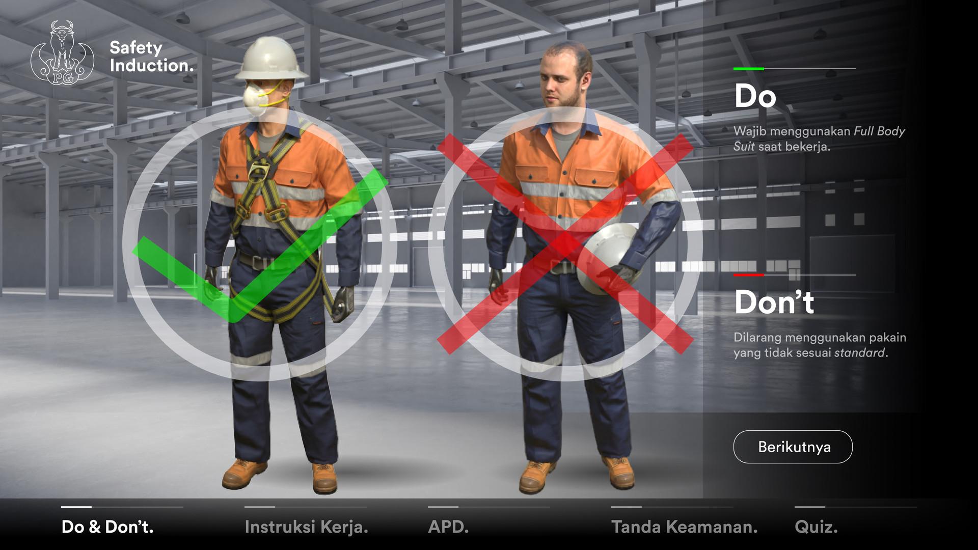 AR Safety Induction Landscape