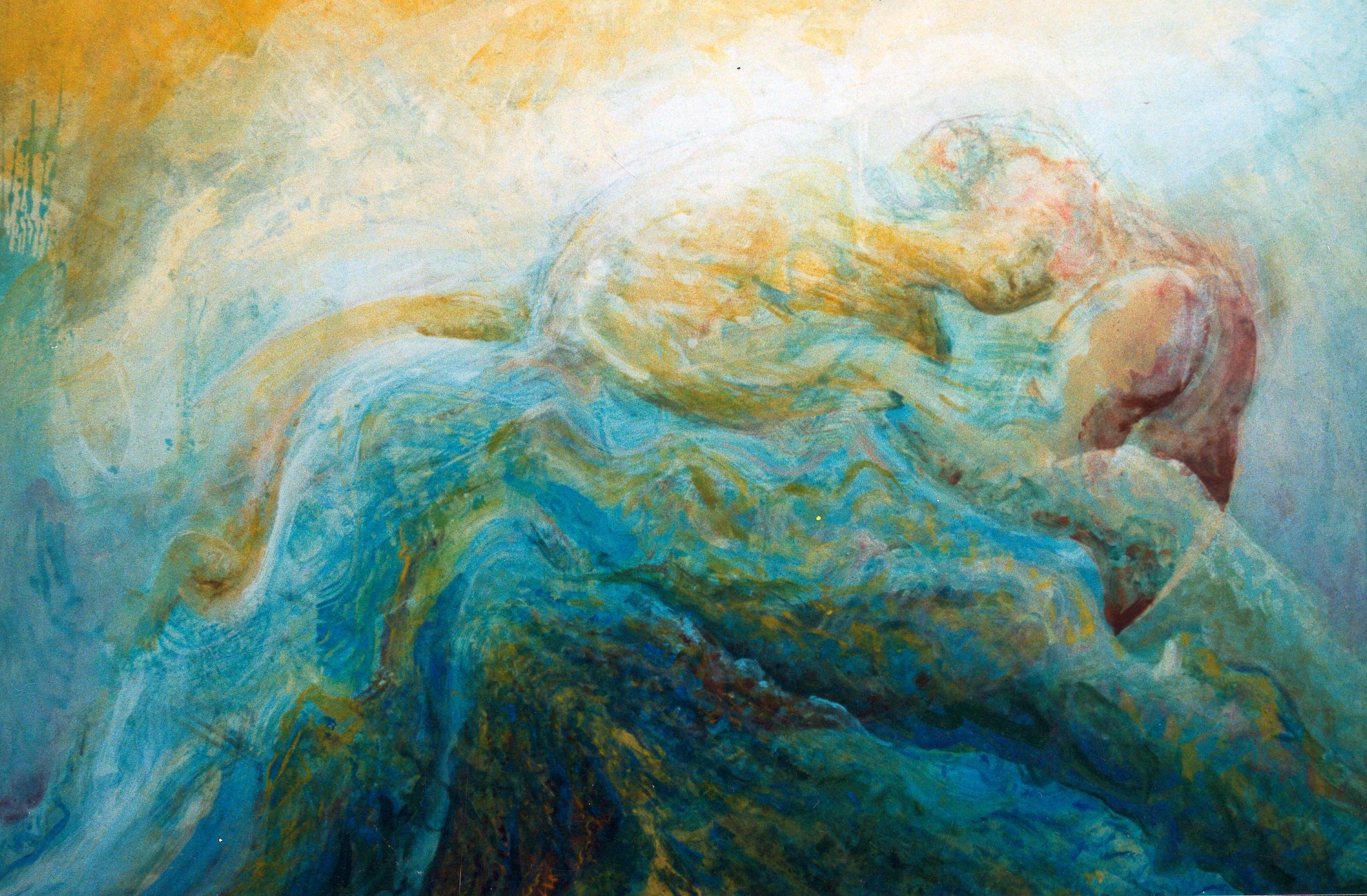 golven met z'n twee /undulating love