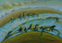 rivierlandschap / river landscape