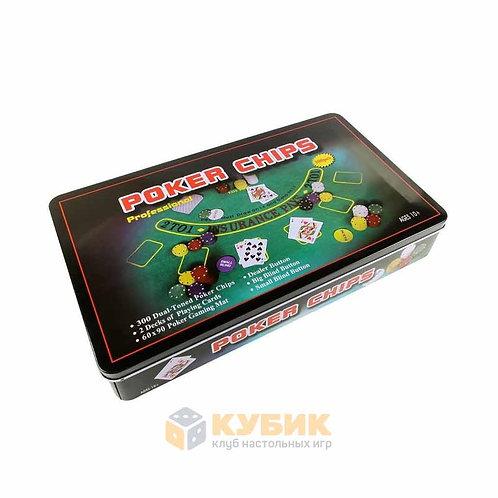 Набор для игры в покер (300 фишек)
