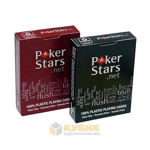 Игральные карты Poker Stars Copag, 100% пластик