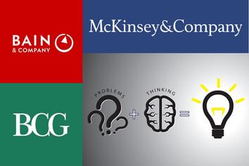 Técnicas de problem solving das 3 maiores consultorias estratégicas do mundo.